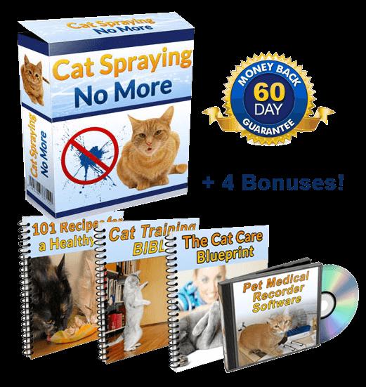 cat spraying no more bonus