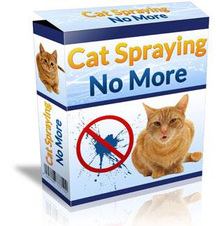 cat spraying no more book